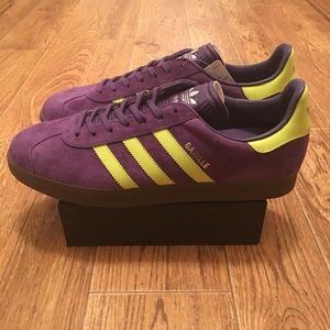 Zapatillas adidas Original nueva poshmark gacela Malmo púrpura Suede